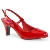 DIVINE-418 Red Patent
